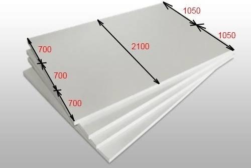 Размеры листа поликарбоната сотового - кровля и крыша